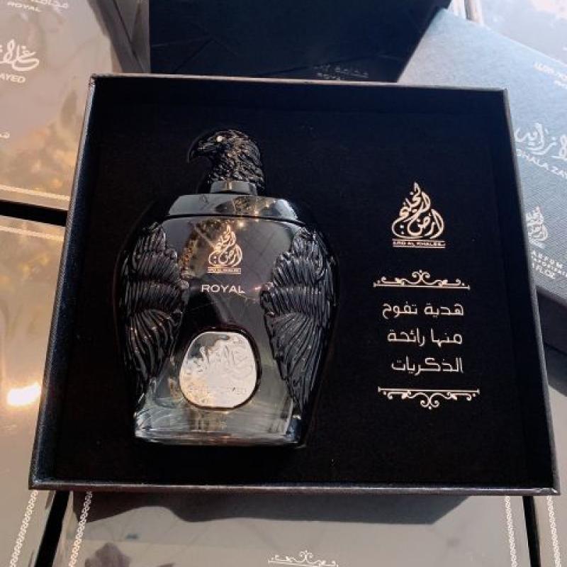 Nước hoa Dubai Đại Bàng Đen Ghala Zayed Royal 100ml dành cho nam