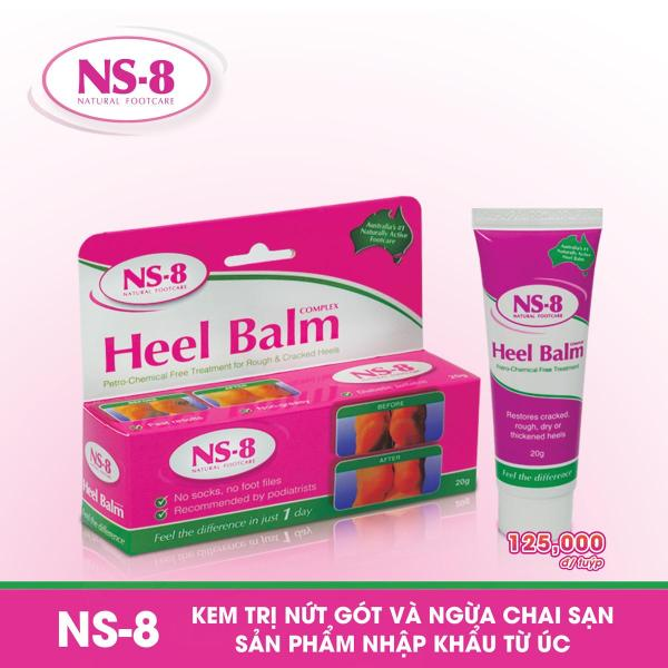 Kem làm giảm nứt gót và ngừa chai sạn NS-8 (20g)