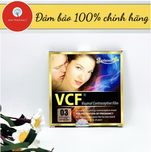 [HCM]MÀNG PHIM TRÁNH THAI VCF - MỸ ( Hộp 3 films) - Minpharmacy