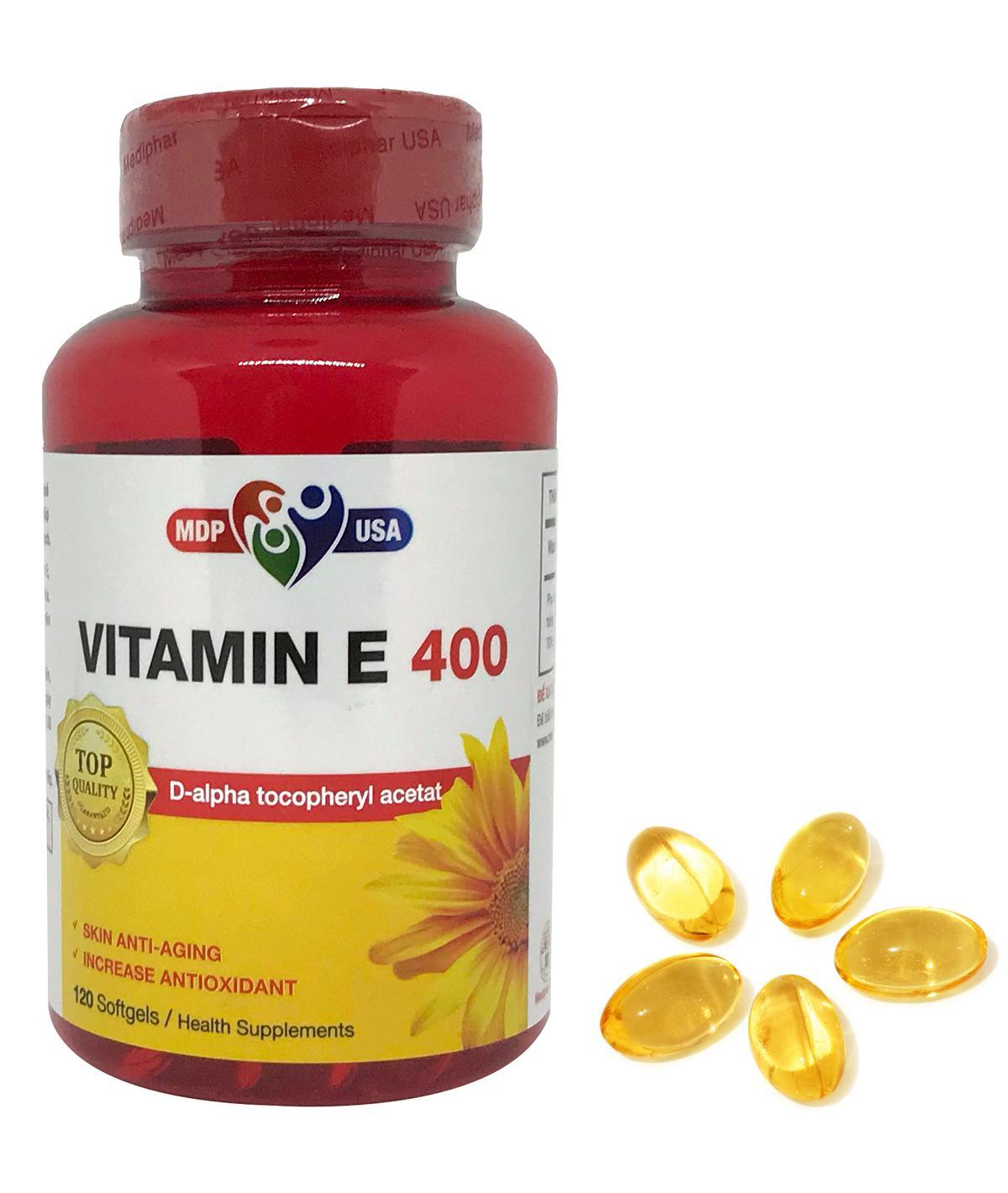 Vitamin E - ngăn cản quá trình lão hóa da