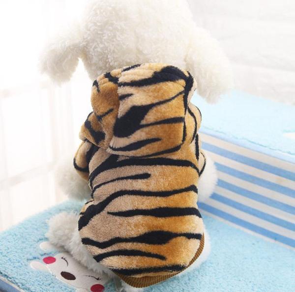 Áo Cho Chó Mèo Thú Cưng Áo Hổ Vằn