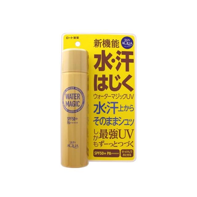 Xịt chống nắng dành cho da mặt và cơ thể Skin Aqua Water Magic (70G)