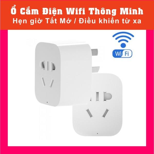 Ổ Cắm Điện Wifi Thông Minh Điều khiển từ xa Hẹn giờ Tắt Mở