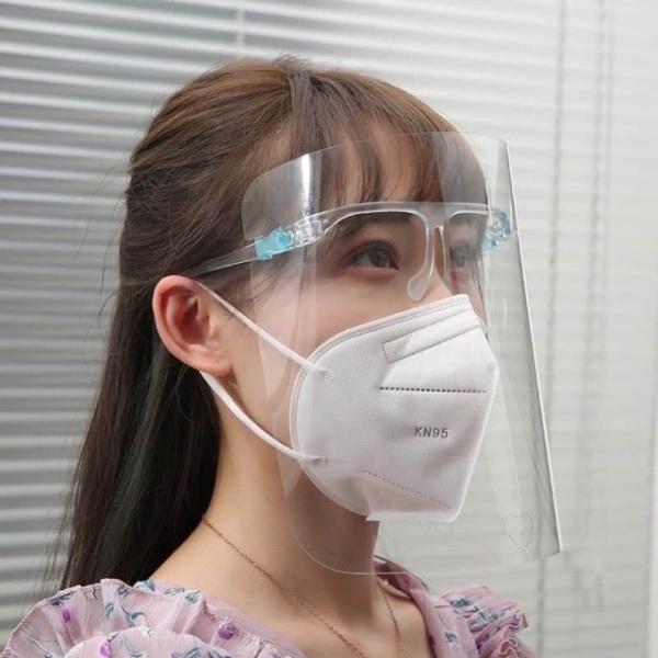 Mắt kính bảo hộ Face Shield kính chống giọt Bắn Bảo Hộ Chống Dịch - kính Che Mặt Y Tế, miếng nhựa được phủ lớp Chống Trầy, Không Hấp Hơi và Đọng Sương Mù Khi Thở cao cấp