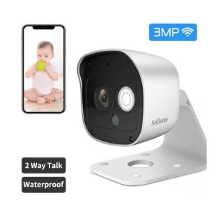 CAMERA GIÁM SÁT KHÔNG WIFI - SRIHOME CAMERA - SH029 - 3.0Mpx Full HD 1080p Camera IP Wifi giám sát, quan sát không dây thumbnail