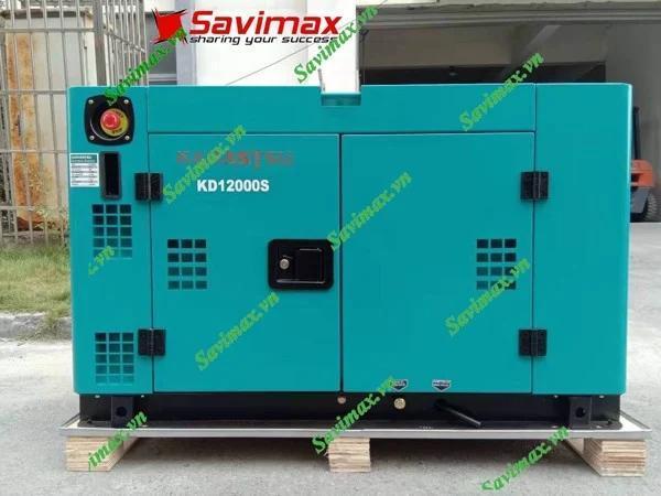 Máy phát điện Kamastsu KD-12000S 10kw chạy dầu 1 pha GIÁ RẺ