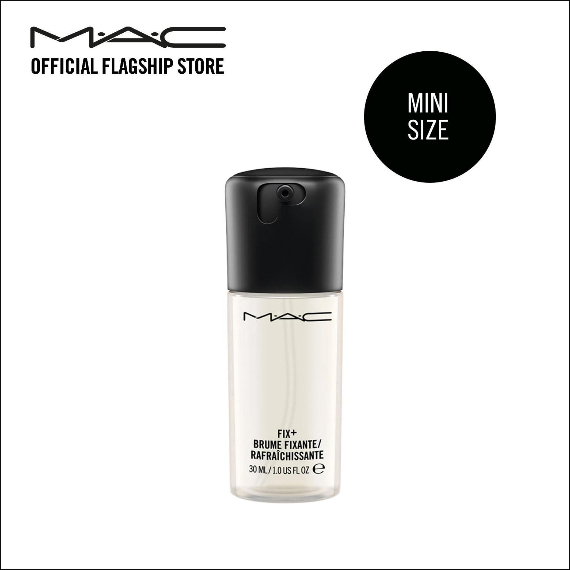 Nước xịt khoáng hoàn tất trang điểm MAC Mini Prep + Prime Face Fix + 30ml