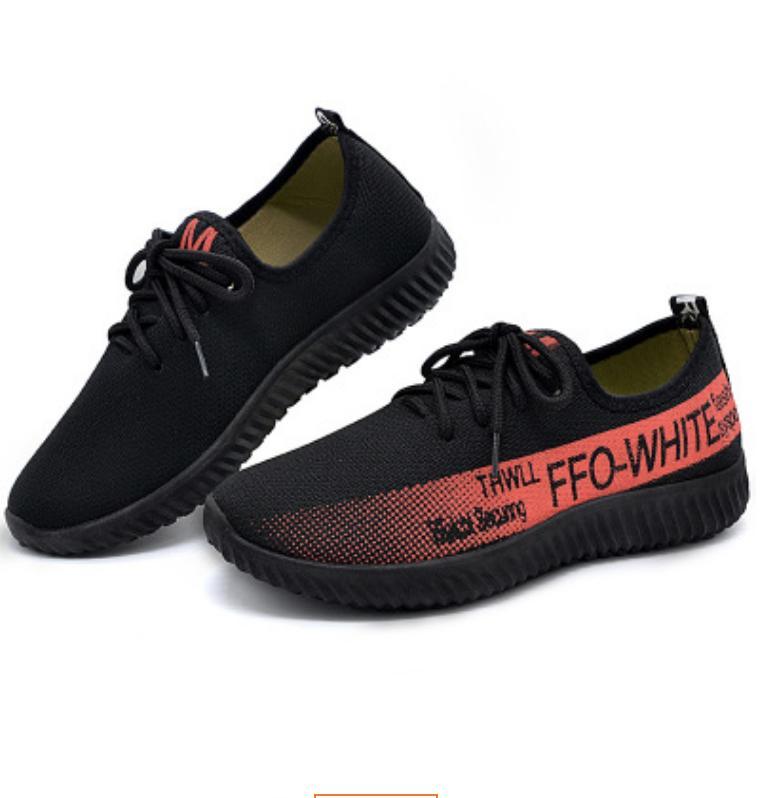 Giày Sneaker Thời Trang Nam nữ - ACG799 Đế nhẹ mang êm chân (Đen đỏ-Đen xanh-Đen Xám Bạc)