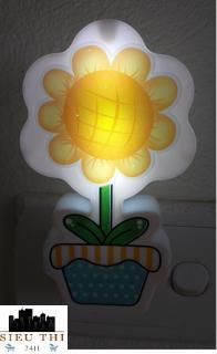 Đèn Ngủ Led Cảm Ứng Hình Hoa Hướng Dương ( Màu ngẫu nhiên) đèn tiết kiệm điện đèn cảm ứng đèn cho bé yêu thumbnail