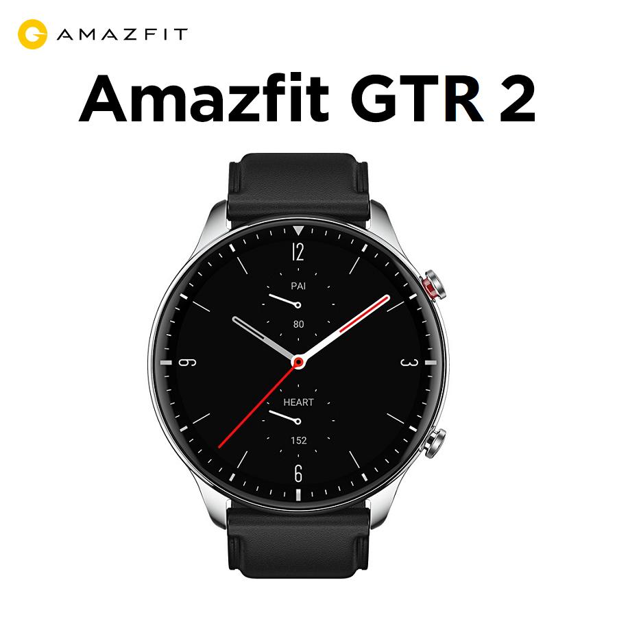Đồng hồ thông minh Xiaomi Amazfit GTR 2 (Classic - Dây Da - Viền Thép) - Hàng Chính Hãng - Bảo Hành 12 Tháng