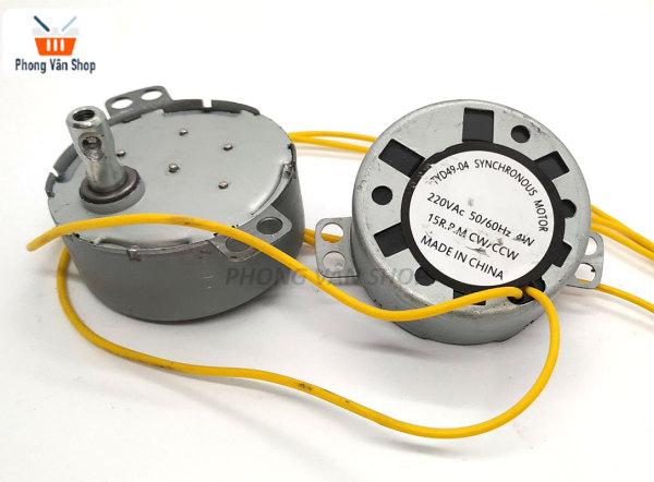 Bảng giá Motor túp năng quạt 220v 2.5rpm 5-6rpm 30rpm - tự động đảo chiều - Tuốc năng quạt