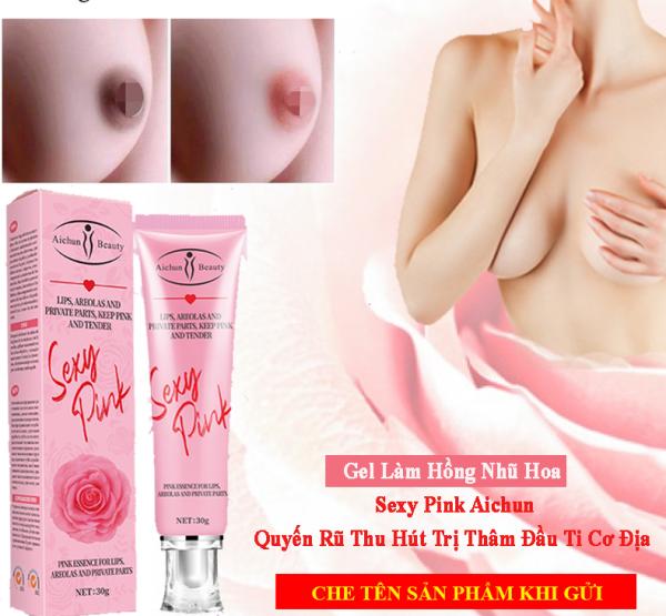 Gel Làm Hồng Nhũ Hoa, Hồng Cô Bé Sexy Pink Aichun Quyến Rũ Thu Hút Chinh Phục Trái Tim Đàn Ông