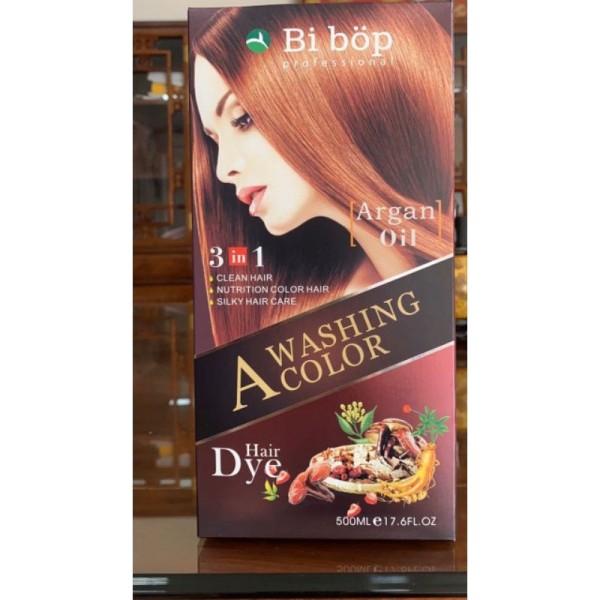 [ CHÍNH HÃNG ] Dầu Gội Phủ Bạc Thảo Dược ( đen ) TÓC BIBOP NHẬT BẢN - GỘI LÀ ĐEN TÓC ( NÂU TÓC ) giá rẻ
