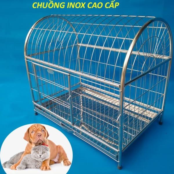 Lồng Chuồng chó mèo inox siêu chắc khoẻ giá rẻ chỉ từ 220k