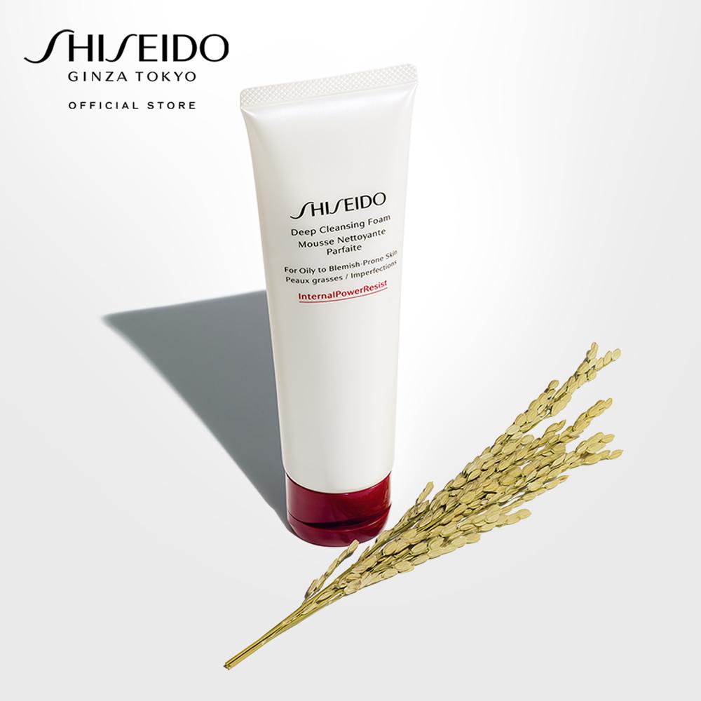 Sữa rửa mặt tạo bọt làm sạch sâu Shiseido Deep Cleansing Foam 125ml