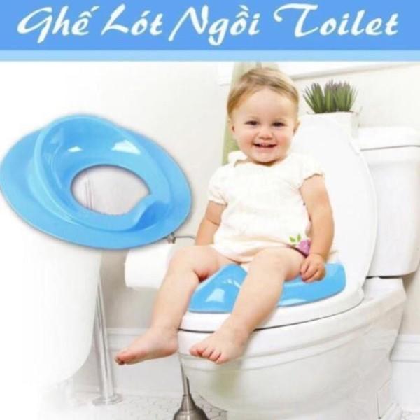 Bệ vệ sinh cho bé - Bồn cầu thu nhỏ cho bé tập đi vệ sinh siêu an toàn