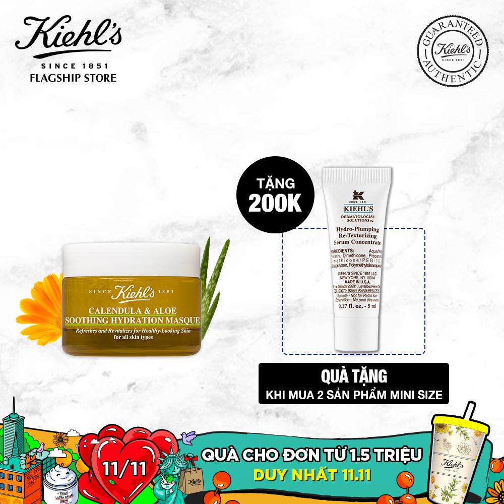 Mặt Nạ Hoa Cúc Kiehl's Calendula & Aloe Soothing Hydration Masque 28ML