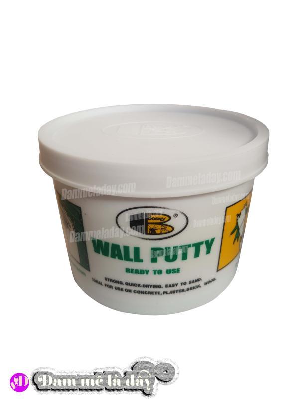 Bột trét tường chống thấm wall putty Bosny