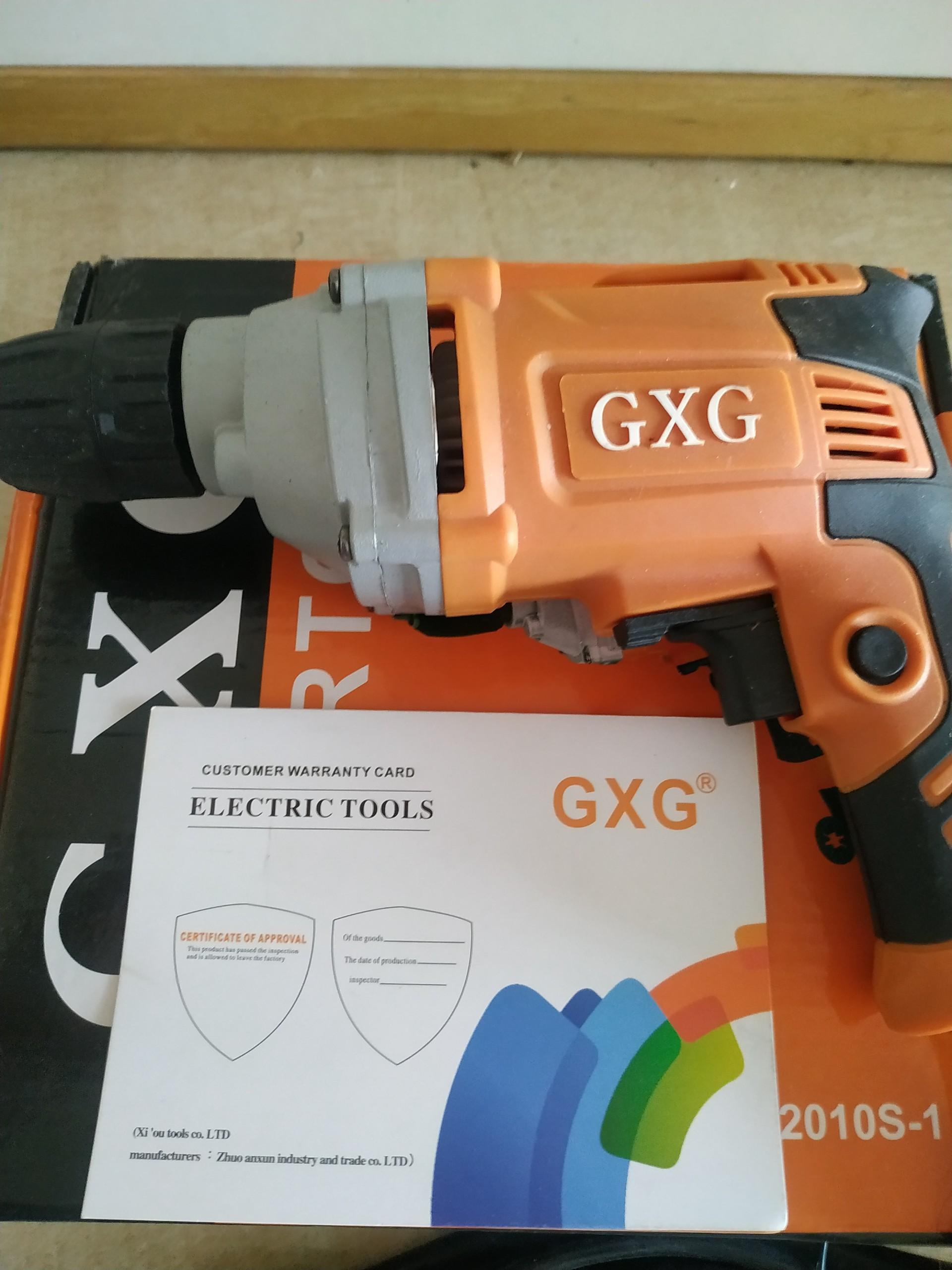 Máy khoan điện GXG 10ly, công suất 490W