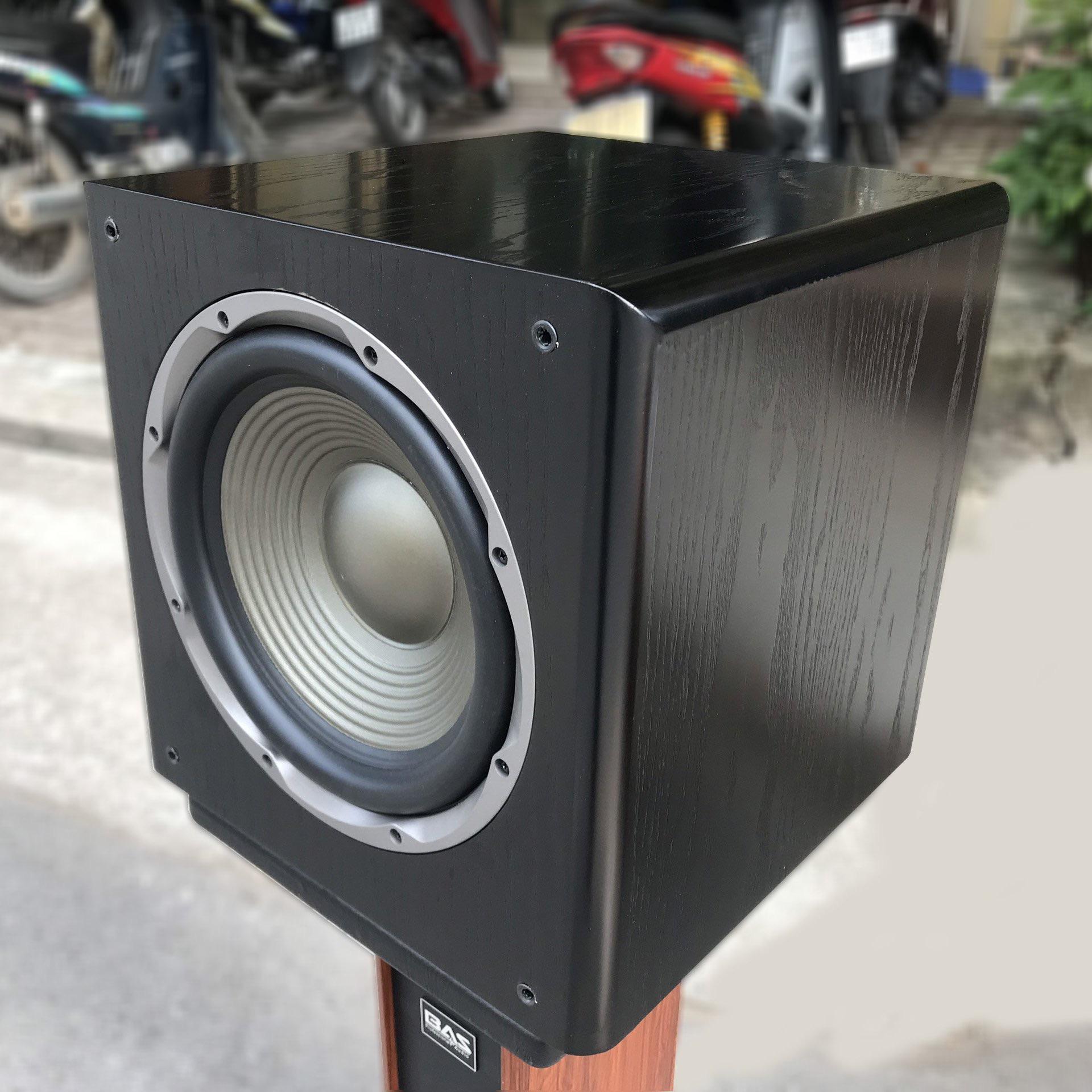 Loa subwoofer - loa trầm, sub điện BAS AS-12 bass 30 - nguồn xuyến - cs 300w - CHÍNH HÃNG
