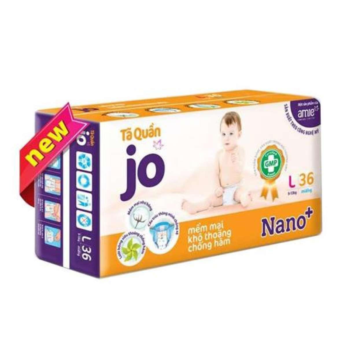 Tã quần Jo L36 ( cho bé từ 9-13kg)