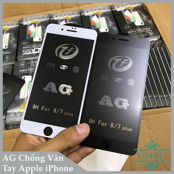 Kính Cường Lực IPHONE Full Màn AG Chống Vân Tay - Miếng Dán Màn Hình Điện Thoại Apple iPhone 6/ 6s/ 6 Plus/ 6s Plus/ 7/ 7 Plus/ 8/ 8 Plus/ X/ XR/ XS/ XS Max/ 11/ 11 Pro/ 11 Pro Max/ iPhone SE 2020