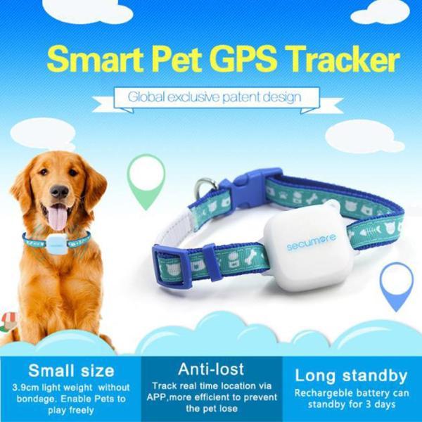 Pet và chó GPS GPS Tracker điều khiển chuỗi chótHkSVNiU