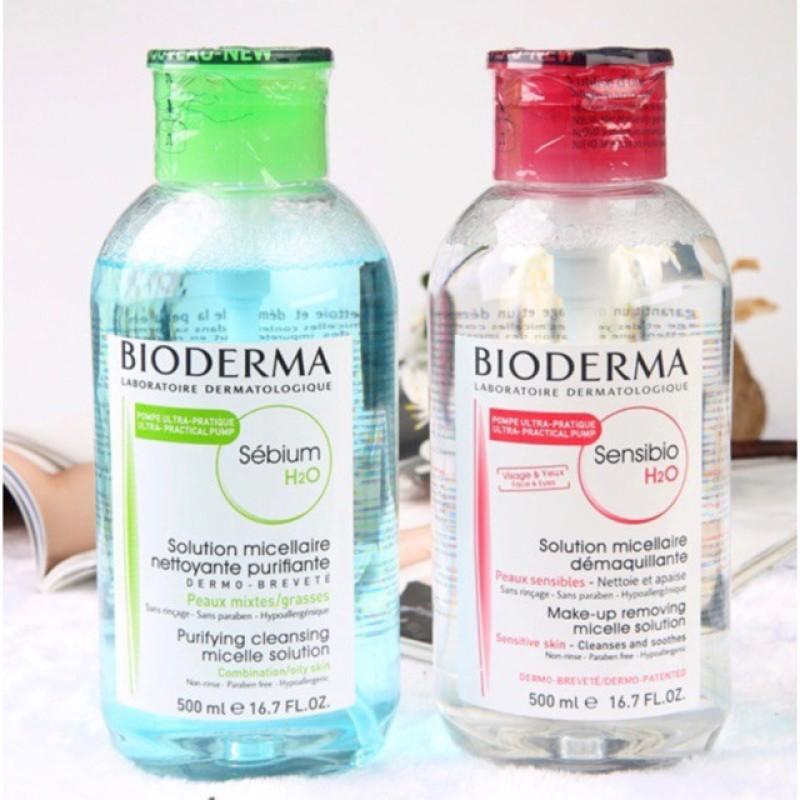 Nước Tẩy Trang Bioderma 500ml nhập khẩu