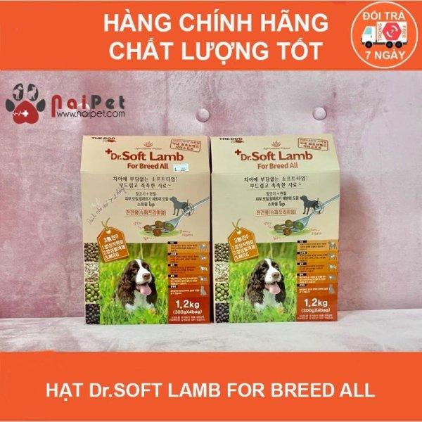Thức Ăn Hạt Mềm Cho Chó Mọi Lứa Tuổi Vị Cừu Dr.Soft Lamb For Breed All