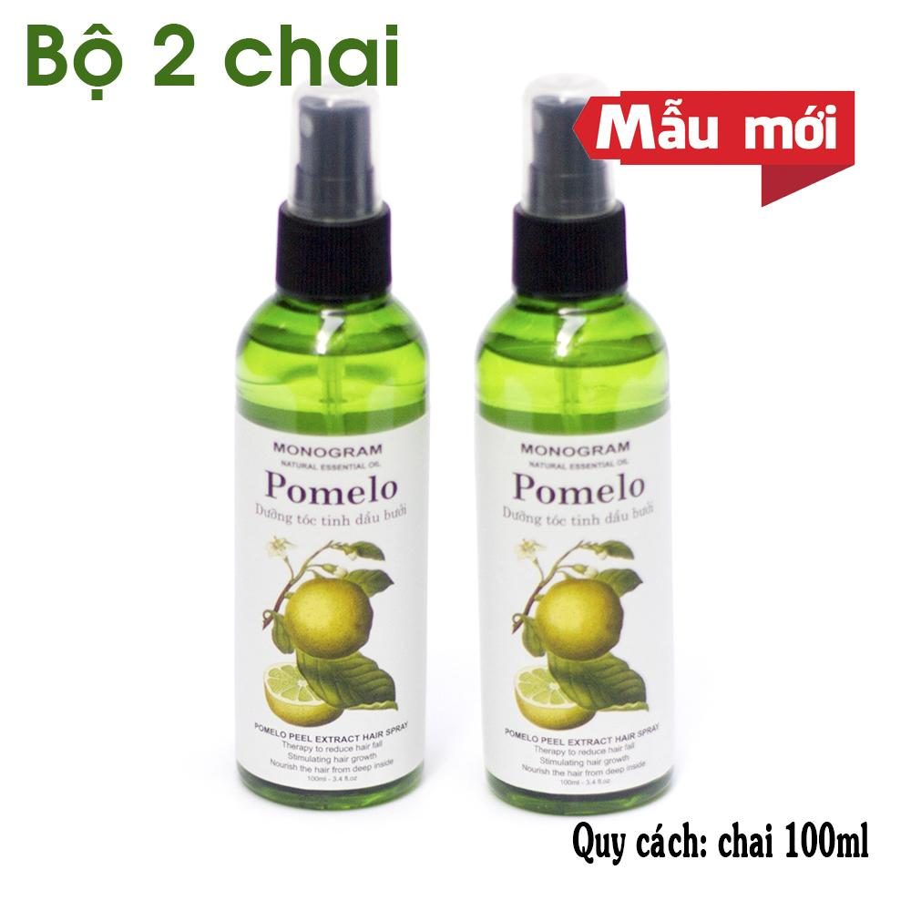 Bộ 2 chai xịt Pomelo Tinh Dầu Bưởi 100ml x2 giá rẻ