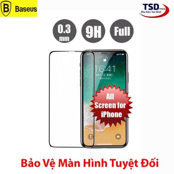 Giá Kính Cường Lực iPhone Full Màn Hình Baseus - X , XR , XS , XS MAX , 11 , 11 PRO , 11 PRO MAX