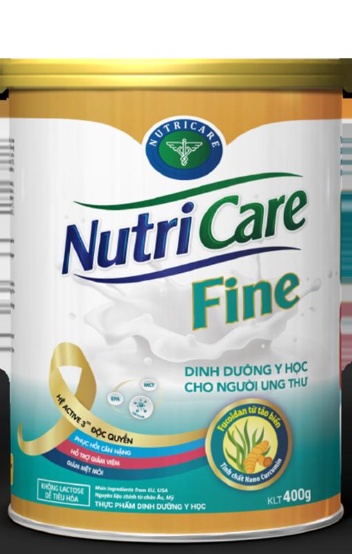 Sữa bột Nutricare Fine - dinh dưỡng y học cho người ung thư (400g) giá rẻ