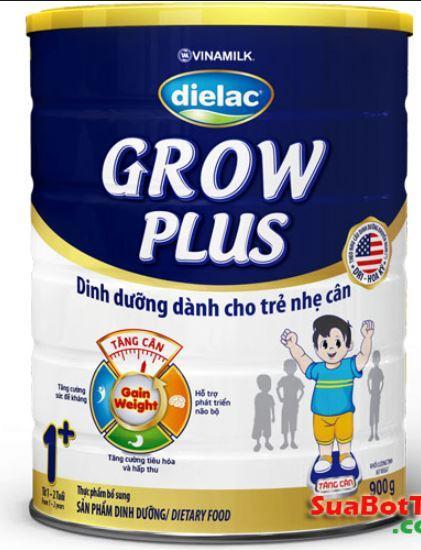 Sữa Bột Dielac Grow Plus 1 (Màu xanh) Hộp Thiếc 900G