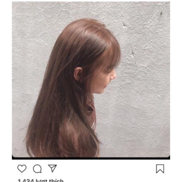 Thuốc nhuộm tóc màu Nâu Cafe Sáng + kèm trợ nhộm 100ml