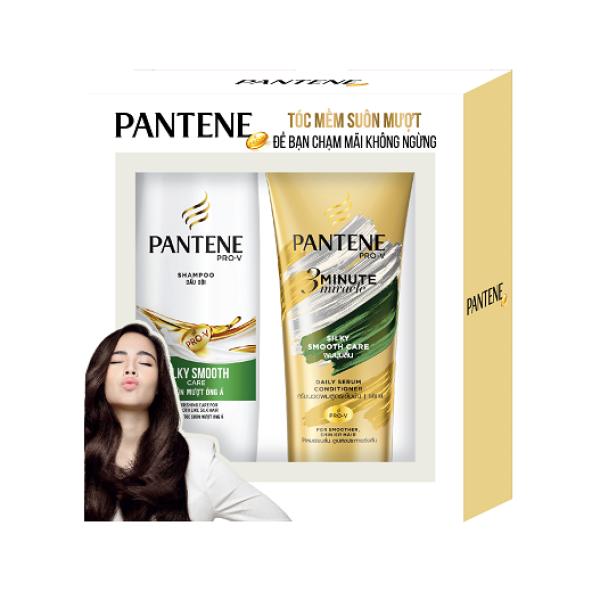 [Quà tặng không bán] Bộ đôi Dầu gội Pantene 300g + Dầu xả Pantene 150ml
