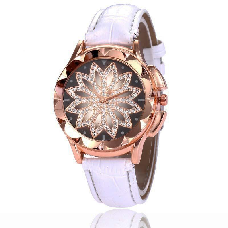 Đồng hồ mặt đá hoa Saphiar mẫu mới 2019