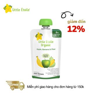 Dinh dưỡng Little Étoile Organic táo, chuối, lê 120g (Trên 6 tháng) thumbnail