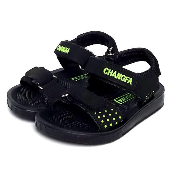Giày sandal quai ngang đế đúc CHANGFA KH1 đi học cho bé - GE003
