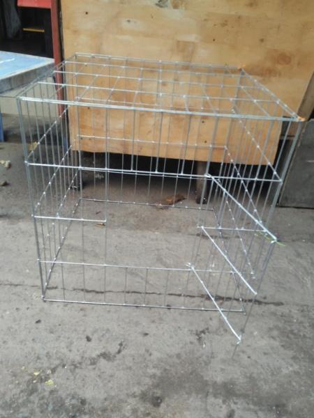 Lồng kẽm nuôi gà khổ 60 vuông không khây