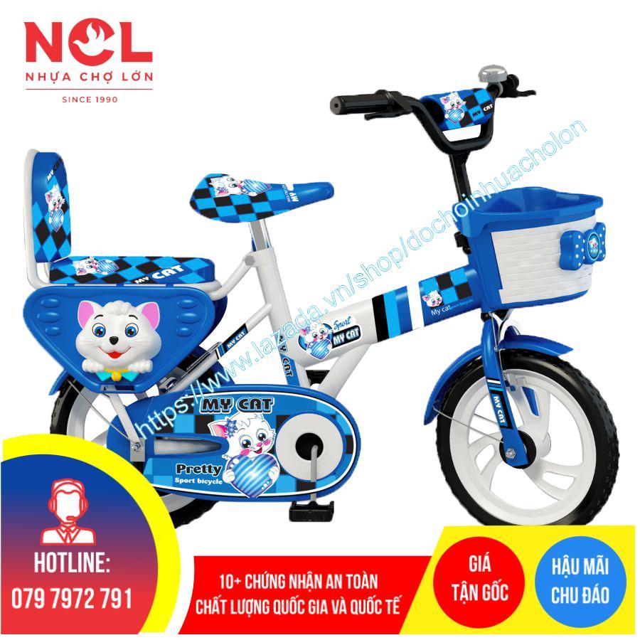Mua Xe đạp trẻ em Nhựa Chợ Lớn 14 inch K87 - M1610-X2B