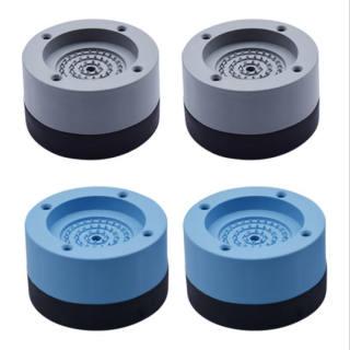Bộ 4 chân đế cao su chống rung máy giặt - 4 chân chống ồn [đế máy giặt] - hình 1