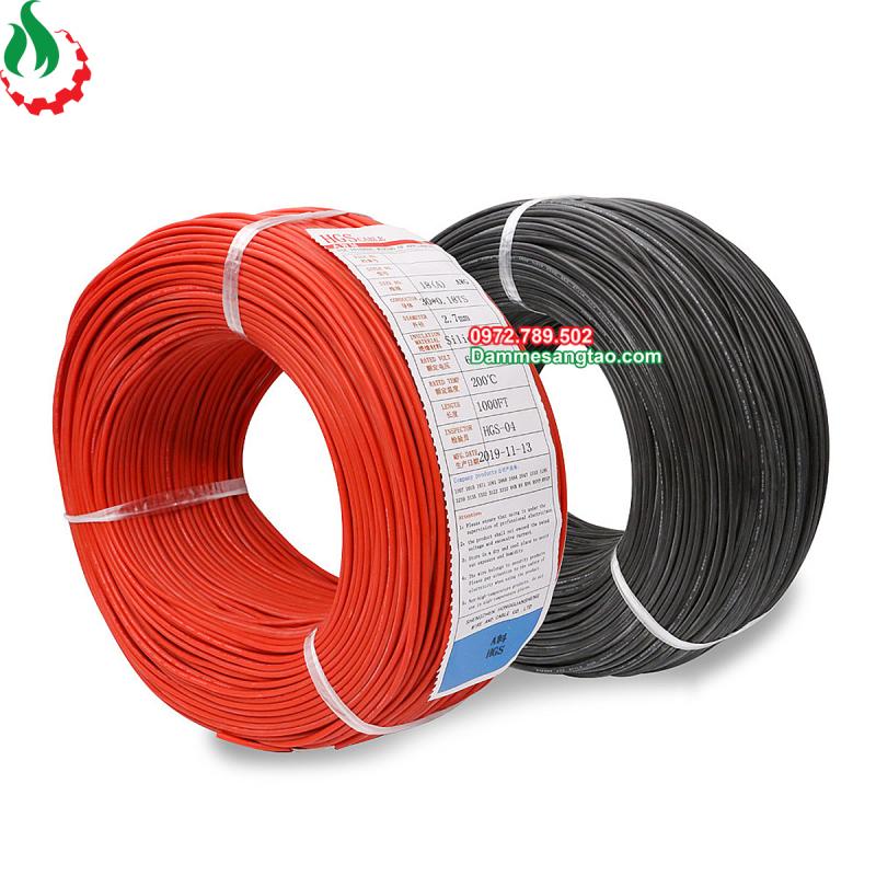 Bảng giá DMST Dây điện chống cháy silicon AWG cao cấp tiêu chuẩn 3239