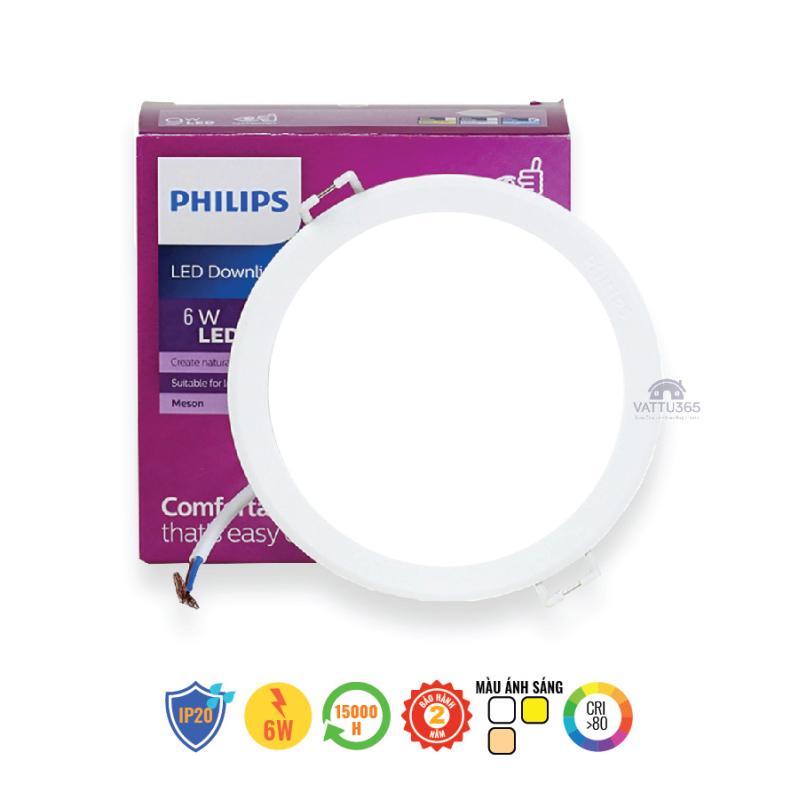 Bộ đèn LED PHILIPS Âm Trần MESON G3 (594xx) - [HÀNG CHÍNH HÃNG] - Giá cạnh tranh, ánh sáng đồng đều