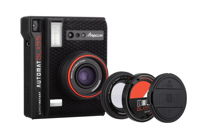Máy ảnh chụp in liền Lomo'Instant Automat Glass màu Magellan (pin máy, remote)