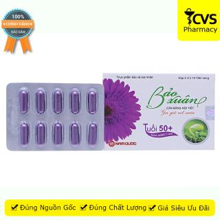 Bảo Xuân 50+ (Hộp 30 viên, Tím) - Viên uống cân bằng nội tiết tố nữ dành cho phụ nữ trên 50 tuổi - cvspharmacy thumbnail
