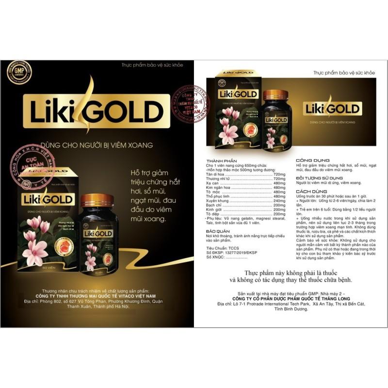 Lọ xịt 6 Likigold Spray 3420k+3 Tinh dầu tỏi+Mã giảm giá 480k nhập khẩu