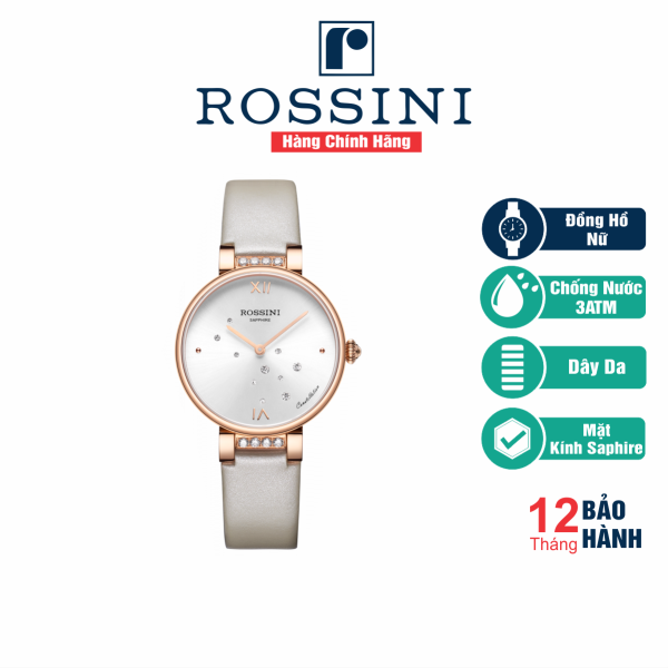 Đồng Hồ Nữ Cao Cấp Rossini - 5858G01B - Hàng Chính Hãng bán chạy