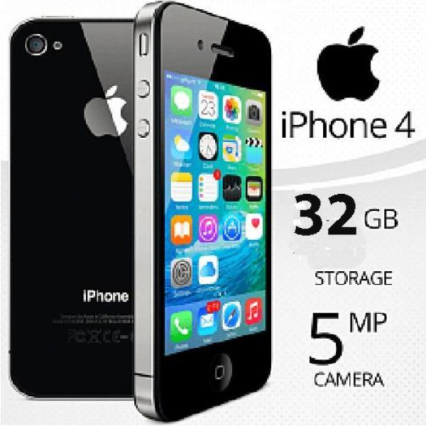 [KHUYẾN MÃI SỐC] Điện thoại xịn cảm ứng IPHONE4 - 32GB có sim nghe gọi - Bảo hành 12T - Giá rẻ