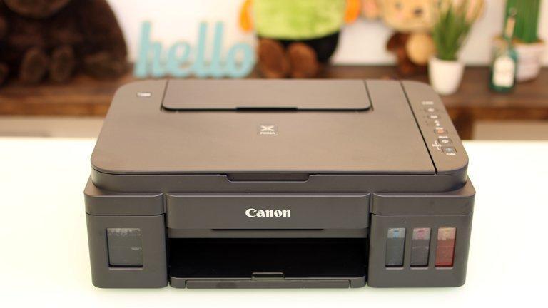 Giá Canon G2010, máy in màu , in - scan - copy, kèm mực in