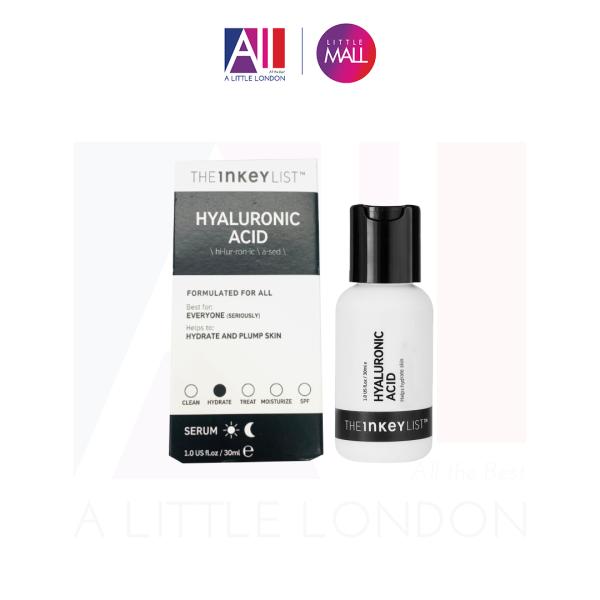 Tinh chất cấp ẩm phục hồi da The Inkey List Hyaluronic Acid Serum - 30ml (Bill Anh) giá rẻ